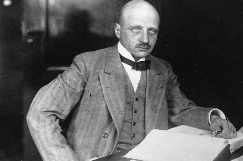 德國化學家哈柏(Fritz Haber)