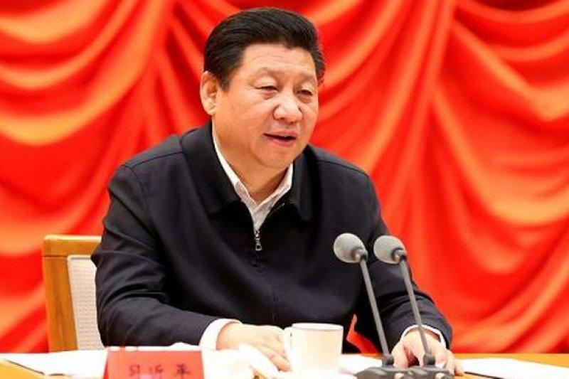 中國國家主席習近平在「依法治國」專題研討班講話。(取自中國政府網)