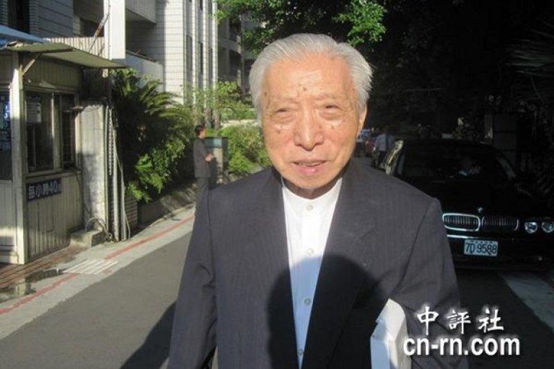 前行政院秘書長王昭明辭世,家屬低調訃告親友。(資料照/中評社)